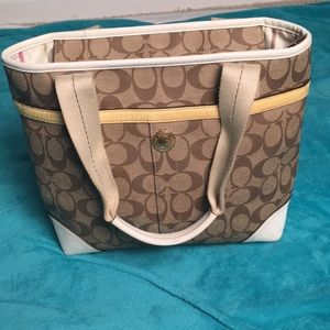Coach Bags - Coach Heritage Stripe Bag